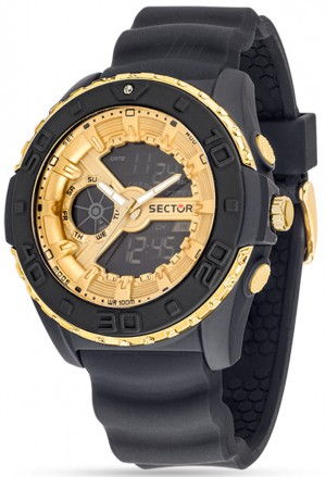 Orologio Uomo Action Street Digital Gold Sector R3251197036