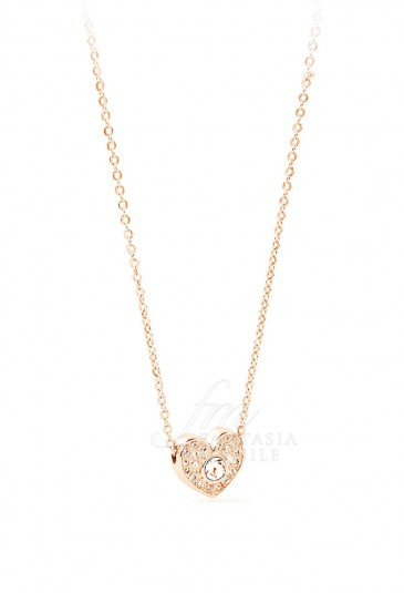 rivenditore di vendita 8987f 77287 Collana Promozione Epsilon Cuore Amore Love Swarovski Brosway BEO07