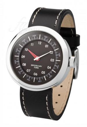 Orologio Brosway Unisex Collezione Oblò Cinturino Pelle Nero Acciaio OB09