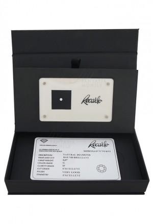 Diamante Recarlo Da Investimento Caratura 0.07 Certificato Taglio Brillante FXFNJFM