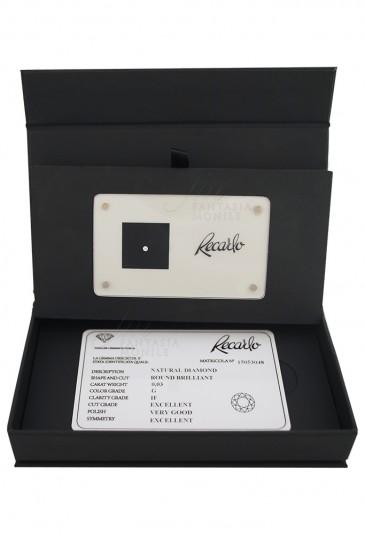 Diamante Recarlo Da Investimento Caratura 0.03 Colore G Purezza IF Certificato Taglio Brillante VK0OWFM