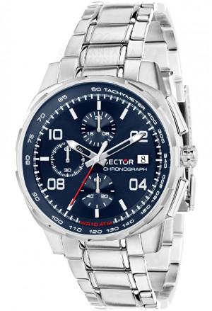 Orologio Sector UomoChrono Cronografo Blue Modello 890 Acciaio R3273803002