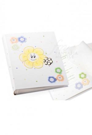 Album Portafoto Baby Bambini Argento Con CD Misura 20X25 Regalo Battesimo Acca B.342 AL
