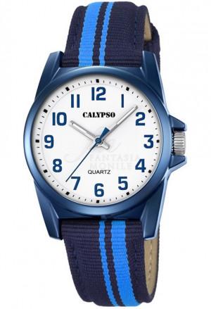 Orologio Calypso Medio Cinturino Blu K5707/6