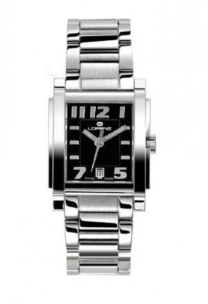 Orologio Donna Lorenz Collezione Bel Ami Datario Rettangolare Acciaio 024498AA