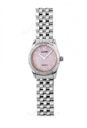 Orologio Lowell Donna Solo Tempo Quadrante Rosa Stone Powder Diametro 26mm PL5170-0800