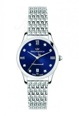 Orologio Philip Watch Donna Grace Mesh Blu R8253208501