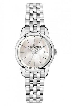 Orologio Philip Watch Donna Anniversary Madreperla Datario Silver R8253150503