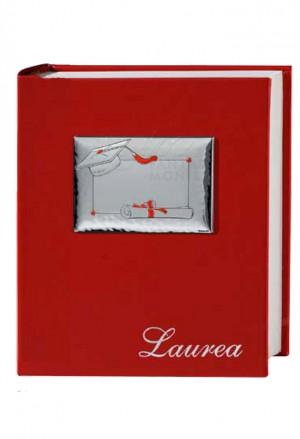 Album Portafoto Laurea Argento Bilamina Dimensione 20X25 GBG 6353