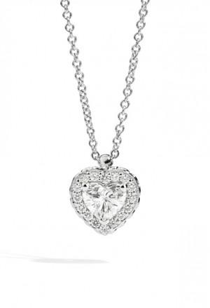 Collana Recarlo Cuore Modello Anniversary Love Diamanti Naturali Oro 18kt Donna P67SC002/040-45