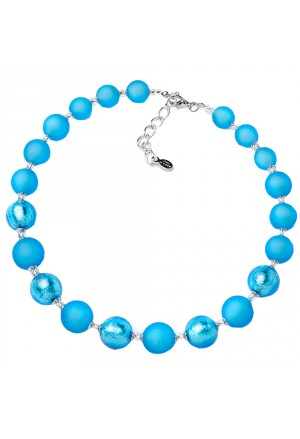 Collana Vetro Murano Turchese Made In Italy Momilu By Acca M.CHIC.2C