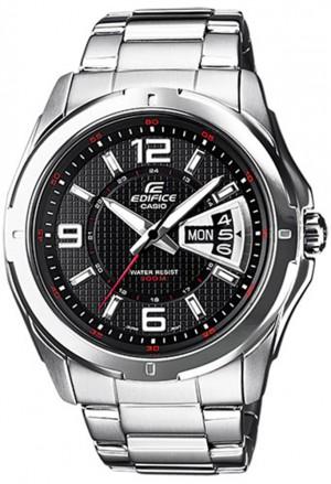 Orologio Edifice Casio Acciaio Uomo Solo Tempo EF-129D-1AVEF