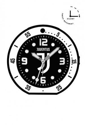 Sveglia Juventus Prodotto Ufficiale Orologio Tavolo Juve Snooze Sweep Movement Illuminazione JA6015JU2