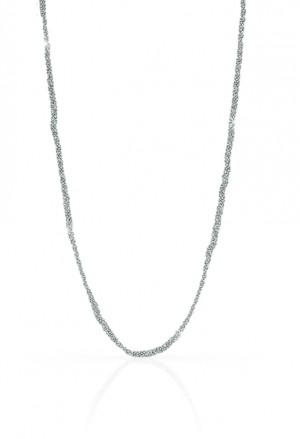 Collana Girocollo Unoaerre Donna Intreccio Sfere Diamantate Fashion Style AG1379