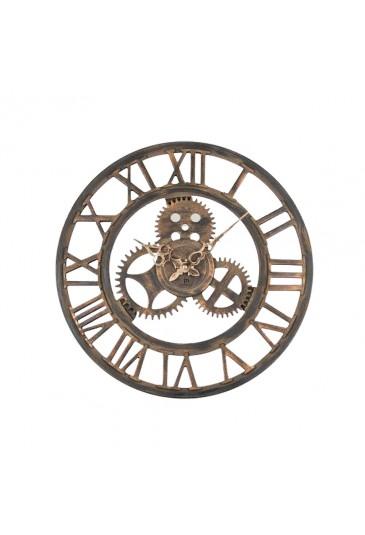 Orologio Lowell Da Parete Scheletrato Mdf Industrial Style Misura 43 Cm 21458