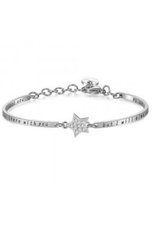 Bracciale Brosway Chakra Stella Significato Amicizia Cristalli Acciaio Donna BHK152