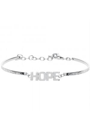 Bracciale Brosway Chakra Scritta Hope Significato Speranza Acciaio Donna BHK240