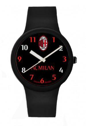 Orologio Milan Prodotto Ufficiale Unisex Acciaio Silicone P-MN430XN4