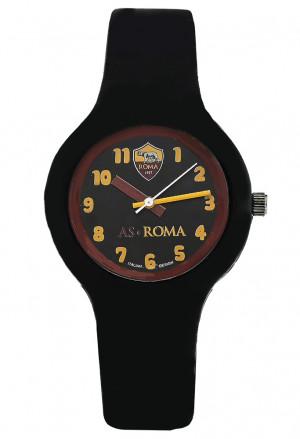 Orologio Roma Prodotto Ufficiale Unisex Acciaio Gomma Squadra Calcio Lowell P-RN430KN4