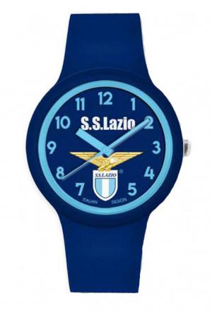 Orologio Lazio Prodotto Ufficiale Unisex Acciaio Gomma Squadra Calcio Lowell P-LB430XB2
