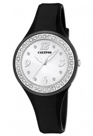 Orologio Calypso Donna Nero Swarovski K5567/F