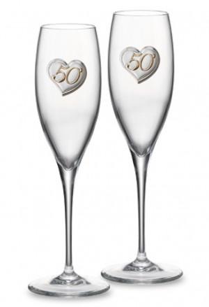 Bicchieri Sovrani Flute Anniversario 50 Anni B1960