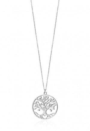 Collana Chanel Luca Barra Donna Albero Della Vita Acciaio Silver CK1356