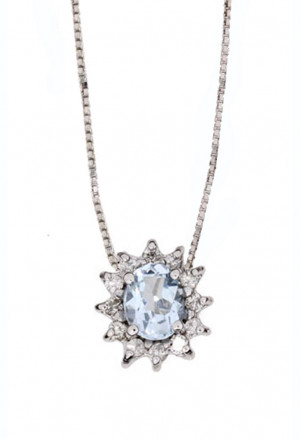 Collana Demetra Donna Oro 18kt Diamanti 138.389.A12