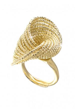 Anello Unoaerre Unoaerre Bronzo Gold Gambo Apribile 1307