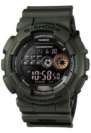 Orologio Casio G-Shock Uomo Verde Militare GD-100MS-3ER