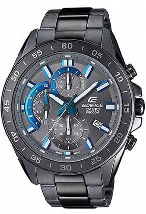 Orologio Edifice Casio Cronometro Acciaio Brunito EFV-550GY-8AVUEF