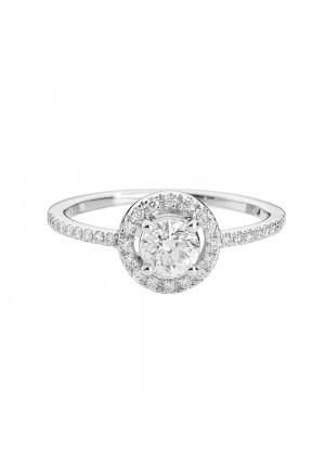 Anello Recarlo Modello Shinig Diamanti Naturali Oro 18kt Donna R548C290/035-14
