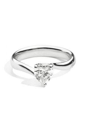 Anello Recarlo Cuore Donna Oro 18kt Diamante Valentine R67SO001/030-15