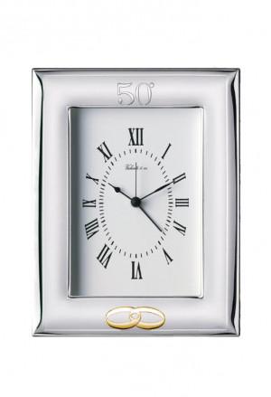 Orologio Argento Sveglia Anniversario 50 Anni 52009/3ORL