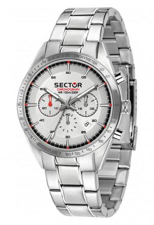 Orologio Sector 770 Cronografo Acciaio Silver R3273616005