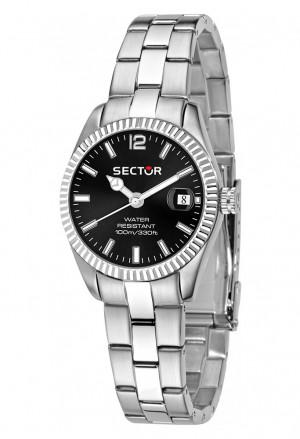 Orologio Sector Uomo 245 Black R3253486509