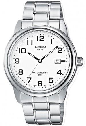 Orologio Casio Lavoro Solo Tempo Datario Numeri Arabi MTP-1221A-7BVEF