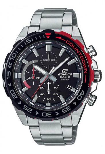Orologio Edifice Casio Chrono Cronografo Ghiera Rossa Uomo EFR-566DB-1AVUEF