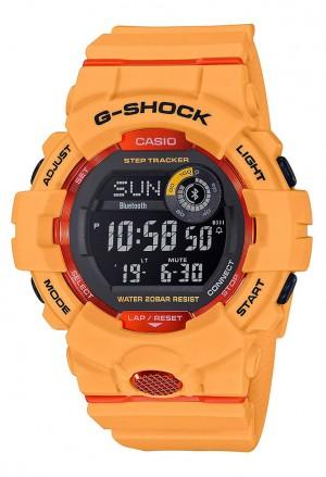 Orologio Casio G-Shock Arancione G-Squad GBD-800-4