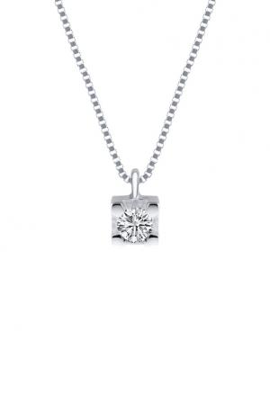 Collana Demetra Donna Punto Luce Diamante Naturale Oro Bianco 18kt 032.269.Q07