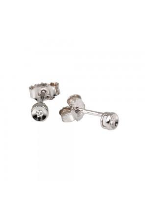Orecchini Demetra Donna Punto Luce Oro 18kt Diamanti 021.099.002