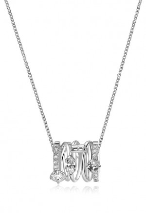 Collana Brosway Affinity Silver Cristalli BFF109