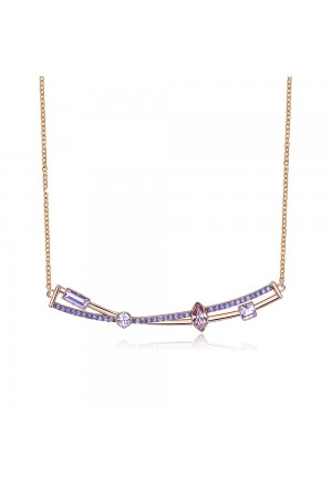 Collana Brosway Affinity Rose Cristalli BFF108