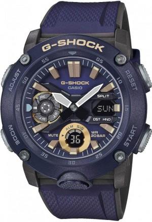 Orologio G-Shock Blu Calassic Casio GA-2000-2AER