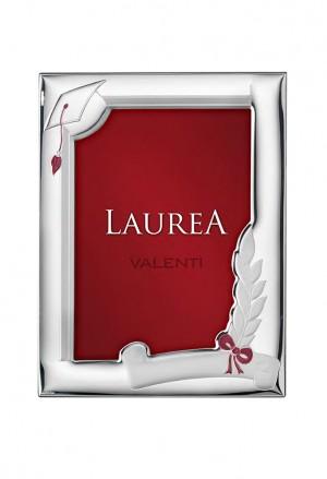 Cornice Valenti Laurea Rossa Argento Laminato 51026/3XL