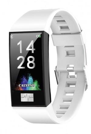 Orologio Calypso Smart Watch Sport Cardio App Usb Cinturino Bianco K8500/1