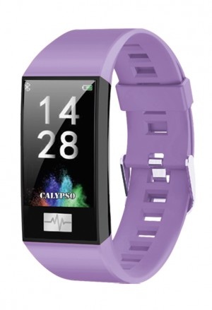 Orologio Calypso Smart Watch Sport Cardio App Usb Cinturino Lilla K8500/2