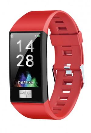 Orologio Calypso Smart Watch Rosso Cardio App K8500/4