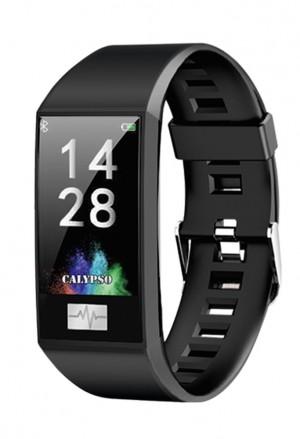 Orologio Calypso Smart Watch Sport Cardio App Usb Cinturino NeroK8500/6