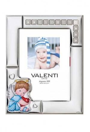 Cornice Valenti Argento Laminato 73123/4C
